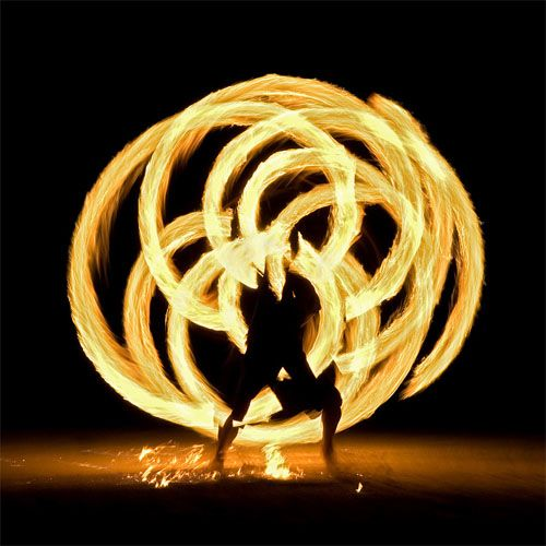could we have a fire dancer? so cool