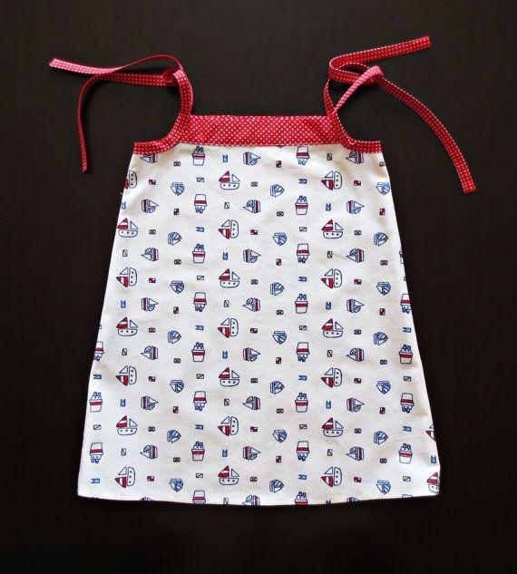 Robe fille bébé / Robe enfant en tissu / Robe de fille par Filfili  #babydress #baby #dress #babydress #summerdress #girldress #babyshower #babygift #handmade #kidsclothes #girlsclothes