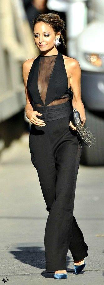Nicole Richie in Emilio Pucci jumpsuit ♥