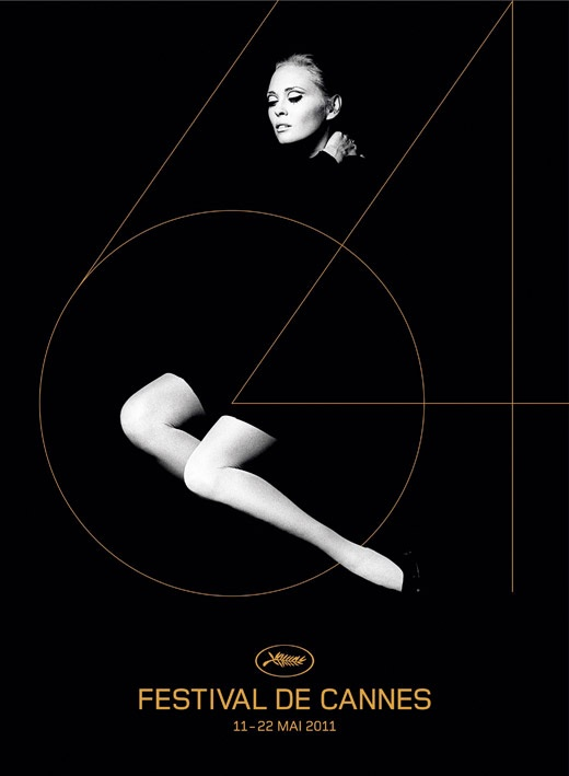 2011 cannes poster features a photo of Faye Dunaway taken by Jerry Schatzberg in 1970
