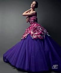 Картинки по запросу фиолетовые свадебные платья