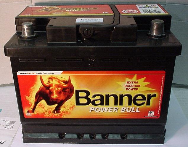 Starterbatterie 12V/62 Ah(C20) Banner Power Bull P6219   http://www.shop.ecke-batterien.de/Starterbatterie-12V/62-AhC20