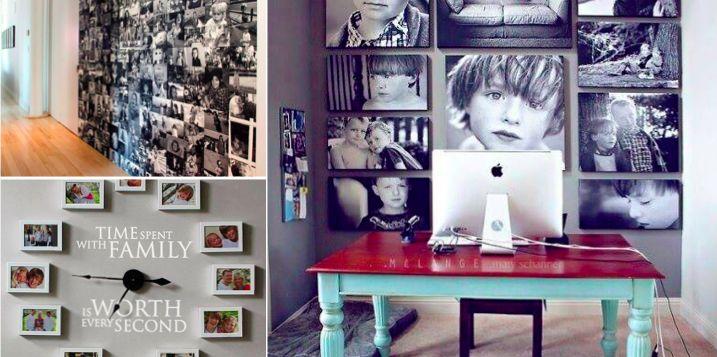 14 BELLES IDÉES POUR ORGANISER VOS PHOTOS DE FAMILLE DE FAÇON CRÉATIVE ET ORIGINALE