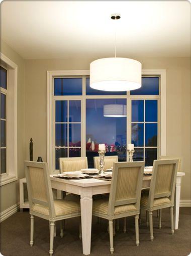 Candice 650mm 4 Light Pendant - White Linen, Pendants, Contemporary, New Zealand's Leading Online Lighting Store