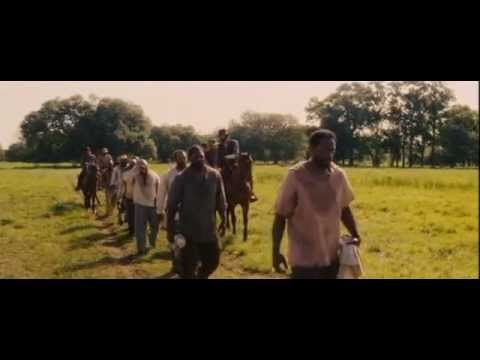Django Unchained - Scene in the middle of traveling to Candyland (rap song) - YouTube