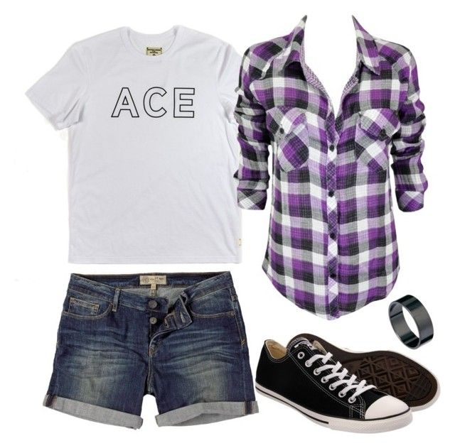 """Feeling Very Asexual Lately"" by homophileandahalf ❤ liked on Polyvore featuring Fat Face, Just Acces, Converse, ootd, ACE, sexuality, asexy and asexual"