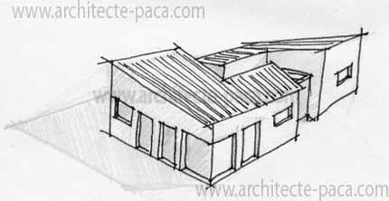 1000 ideas about plain pied on pinterest plan maison. Black Bedroom Furniture Sets. Home Design Ideas