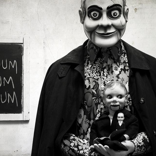 Ventriloquist Dolls // Now talk about a creepy dolls....these would have to be it !