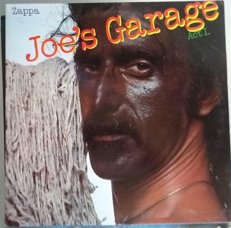 Frank Zappa, Joe's Garage, Act I, Vintage Record Album, Vinyl LP, Classic Rock Fusion Music, Rock Jazz, Experimental, Humor, Satire by VintageCoolRecords on Etsy