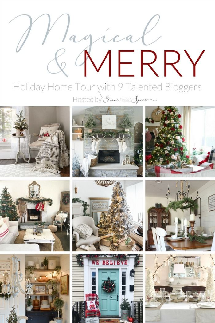 Magical & Merry Holiday Home Tour