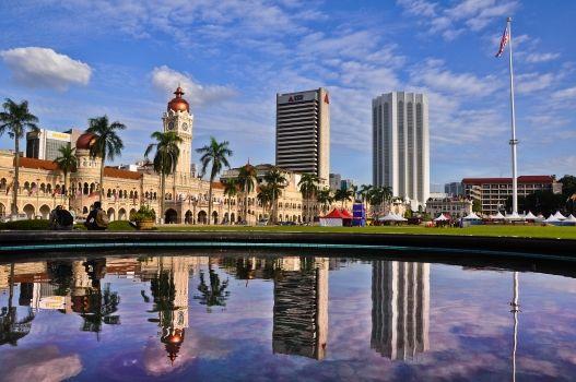Merdeka Square, Kuala Lumpur, Malaysia  http://www.wanderplanet.com/kuala-lumpur-travel-hotels-tourist-attractions/