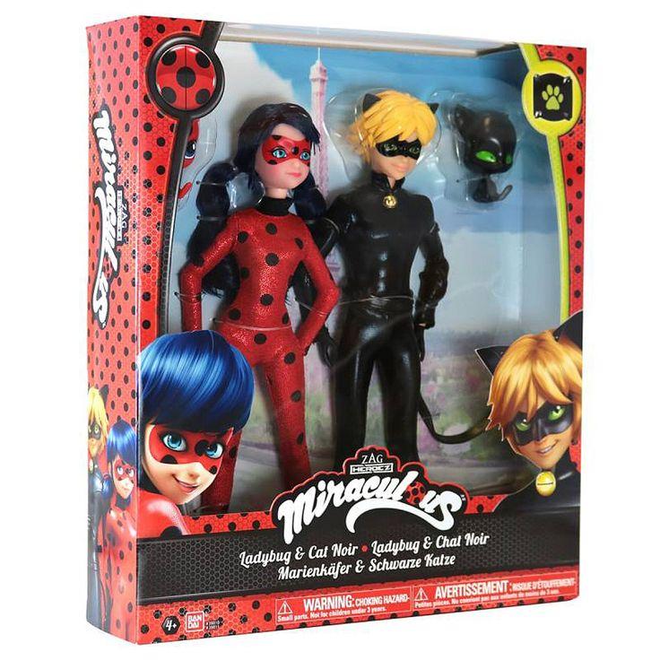 """Ladybug - Pack 2 Muñecos - Figuras de Acción - Personajes de TV - Toys""""R""""Us"""