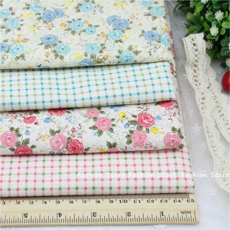 Aliexpress.com: Kup Rose kwiat serii tkaniny tkaniny 4 sztuk tkaniny bawełnianej do szycia patchwork farbic tekstylne pościeli prześcieradła i tkaniny poduszki 40*50 cm od zaufanego Torba na zakupy tkaniny wzór dostawcy na Housewear & Furnishings