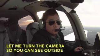 Solo Flight Cirrus SR20 - Americo Silva - Chesterfield - KFCI - YouTube