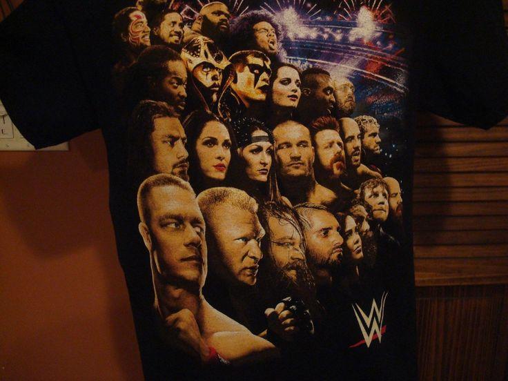 WWE ON TOUR 2015 T-SHIRT MEDIUM JOHN CENA BROCK LESNAR RANDY ORTON SHEAMUS - http://bestsellerlist.co.uk/wwe-on-tour-2015-t-shirt-medium-john-cena-brock-lesnar-randy-orton-sheamus/