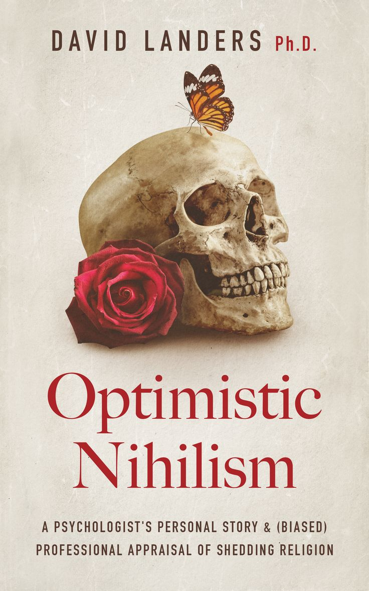 Book Cover Design For Optimistic Nihilism If You Would Like Tomission  Us For Your