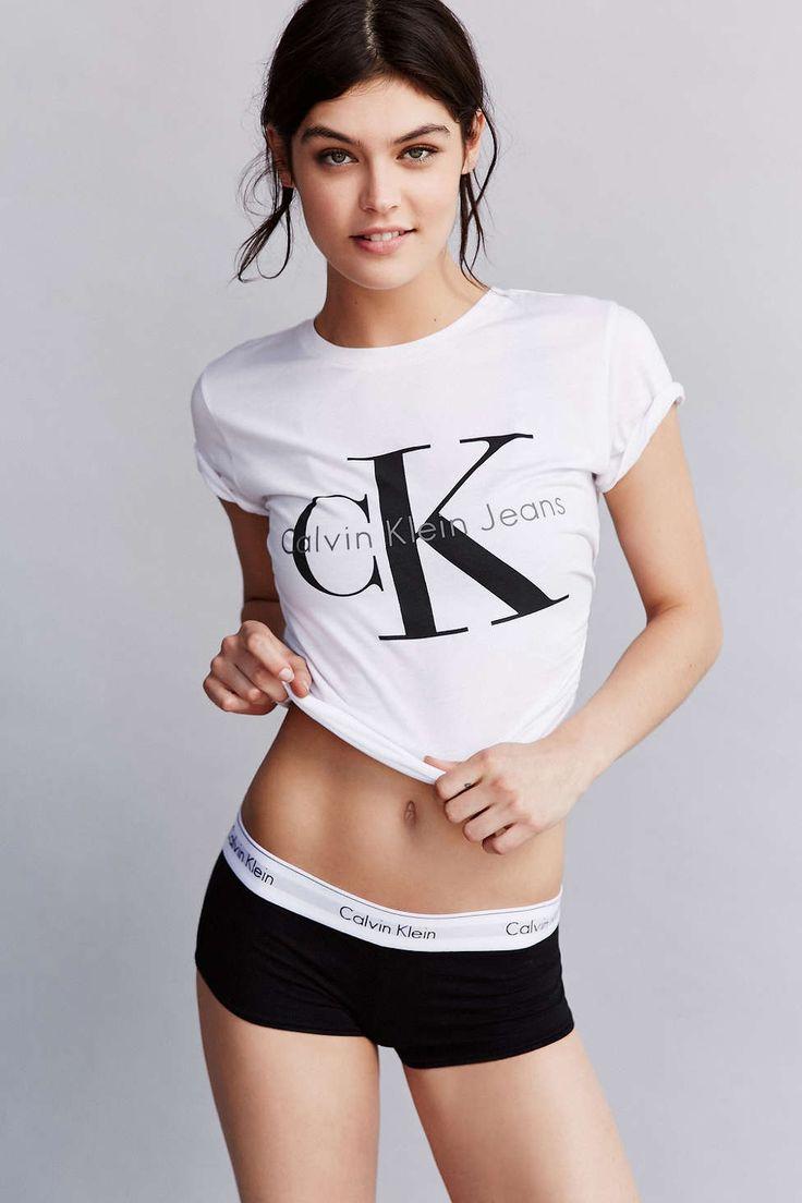 Calvin Klein Classic Logo Boyshort