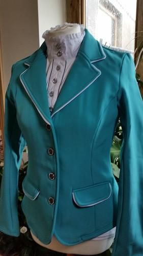 HARRY S HORSE ST. TROPEZ II LADIES SOFTSHELL SHOW COMPETITION JACKET-  CERAMIC  30be09666b808
