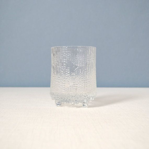 Vintage iittala Ultima Thule Highball Glass by MidModMomStore