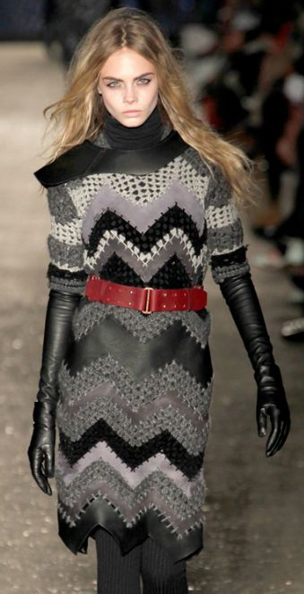 runway knitted fashion  | Keep the Glamour | BeStayBeautiful