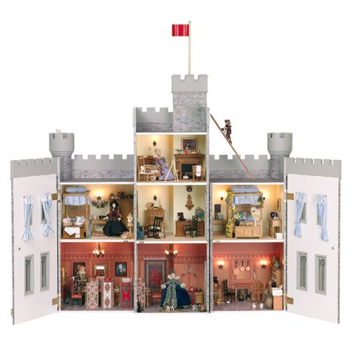 how to scratch build a miniature castle