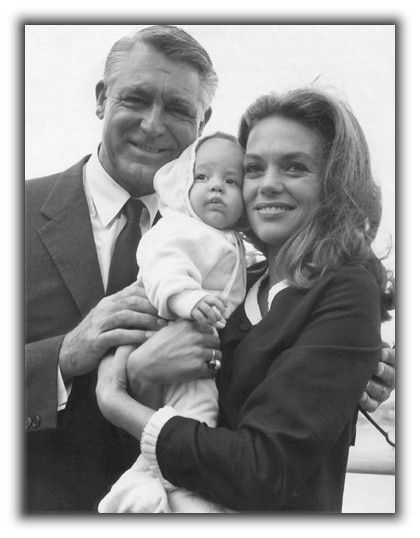 Cary Grant, Dyan Cannon and Jennifer Grant...the marriage lasted from July 22, 1965 to March 20, 1968