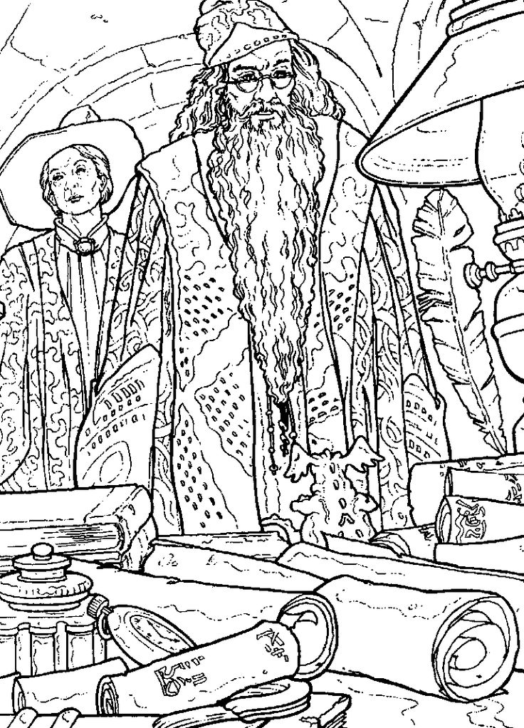39 best Color My World images on Pinterest Adult coloring - fresh coloring pages harry potter