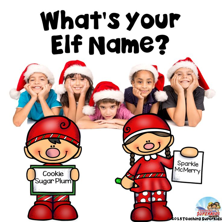 Do you do Elf on a Shelf ? Is so, this little Elf Naming activity will be a fun addition to your December activities! Let the kids pick out Elf Names for themselves and then show which job they would love to have at the North Pole!