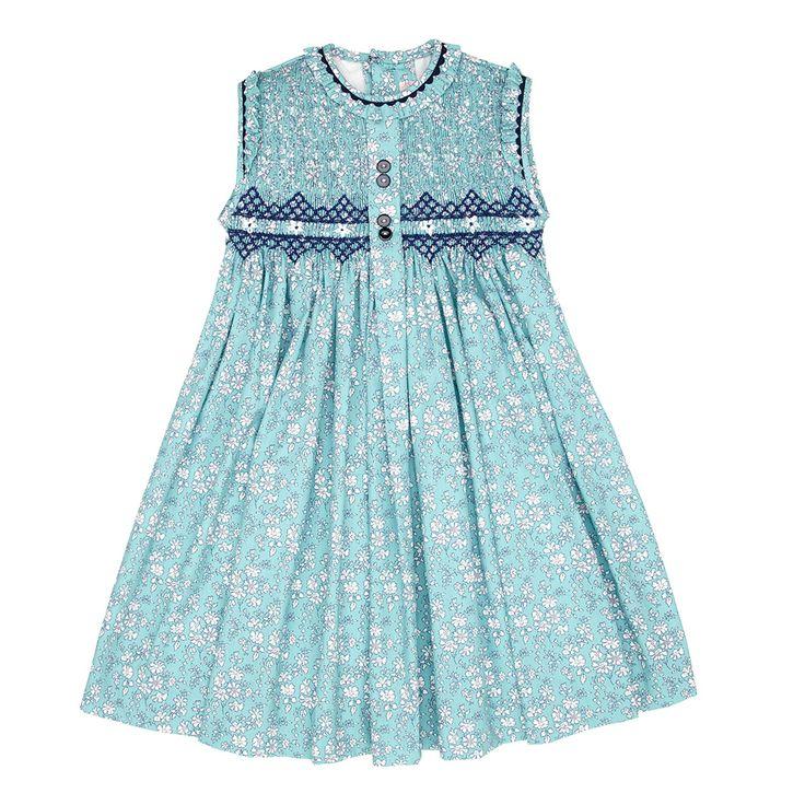Coloma girl smock dress