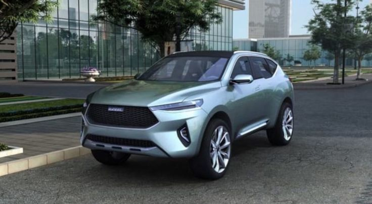 Haval HB-02 Plug-In Hybrid Crossover With 40 Miles Electric Range Unveiled At Beijing Auto Show
