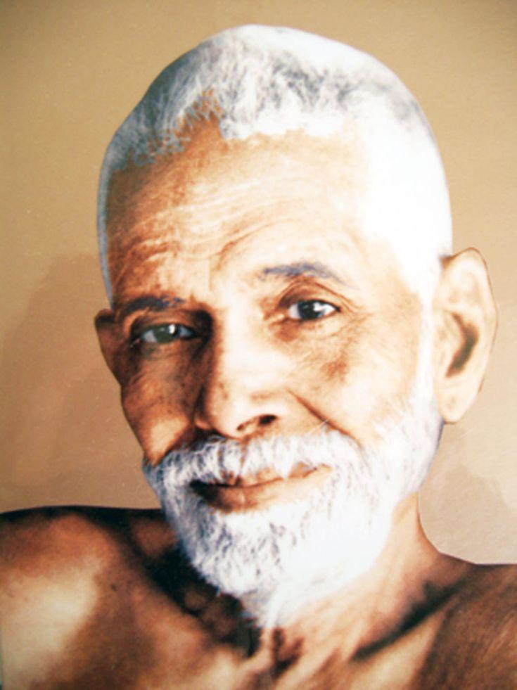 Bhagavan Sri Ramana Maharshi ♱, one of my greatest Advaita teachers. AL.