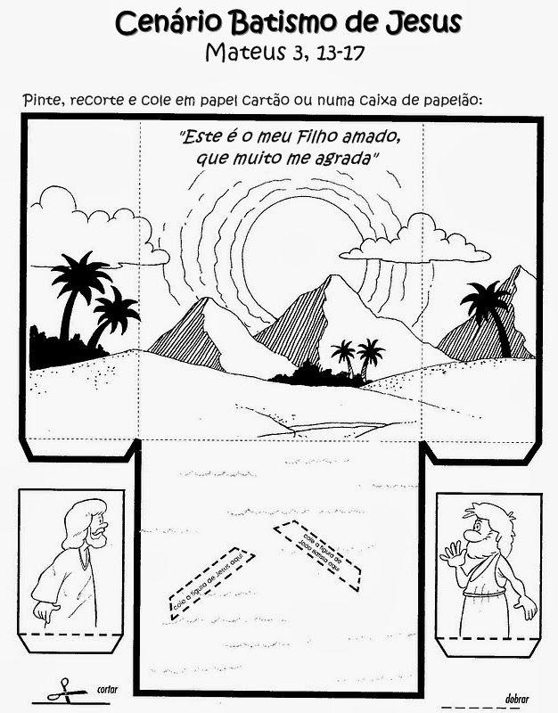 Tia Paula: O batismo de Jesus - ATUALIZADO                                                                                                                                                                                 Mais