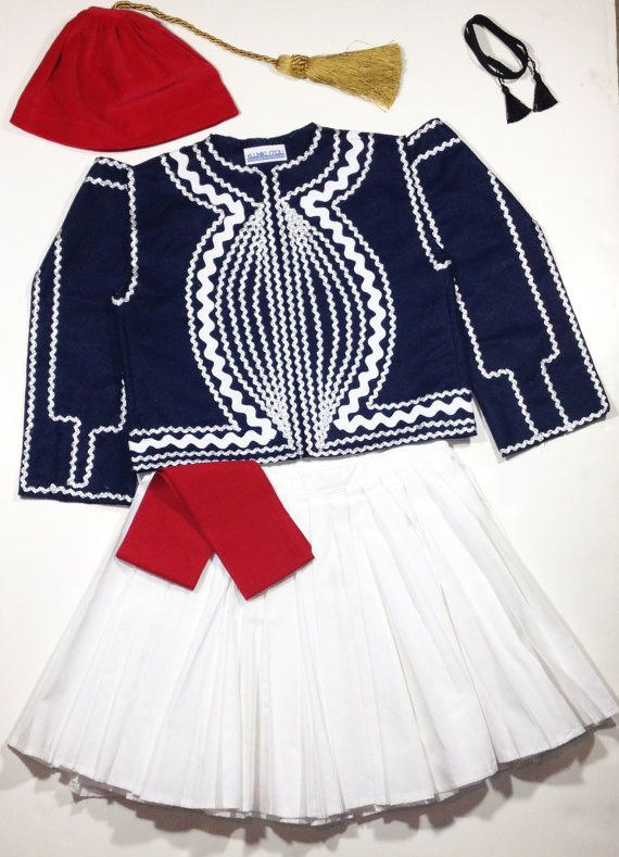 Traditional Ethnic Greek Costume - Boys Foustanella on Etsy, $150.00