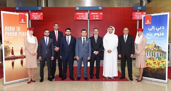 Emirates, Güneydoğu Asya ağını Phnom Penh ile genişletiyor.      İnsanları ve şehirleri birbirine bağlayan Emirates Havayolu, Güneydoğu Asya...