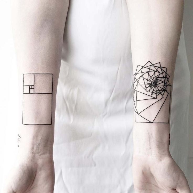 Tatuagens geométricas e minimalistas