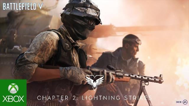 Xbox Battlefield V Update Chapter 2 Lightning Strikes