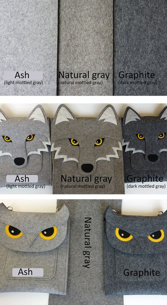 OMG!!! adorable! Owl iPad case Gray felt Made to order by BoutiqueID on Etsy, $69.00