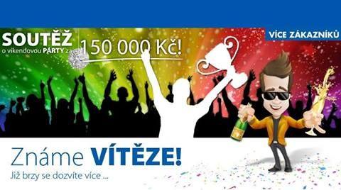 Soutěž o párty v hodnotě 150.000,- má dva vítěze :-) #Mediatel #Soutez