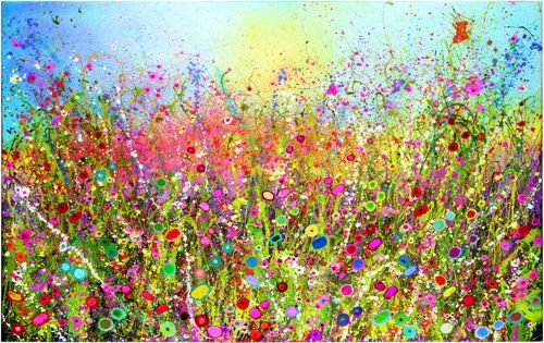 """Paintings : Yvonne Coomber Limited Edition Print - """"I'm Yours"""" - Unframed"""