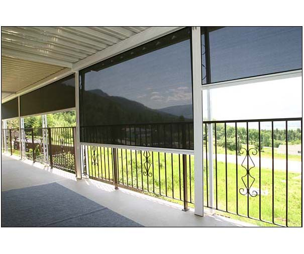 Retractable screens are designed to control light and heat transfer and enhance privacy, allowing you to reduce glare without sacrificing visibility.