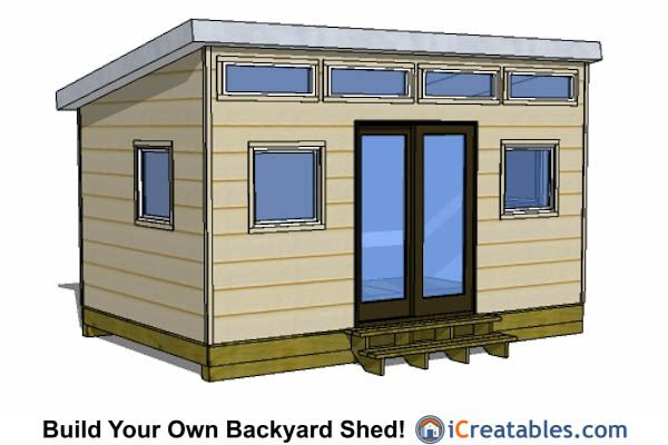 17 best images about 10x16 shed plans on pinterest pool for Modern office shed