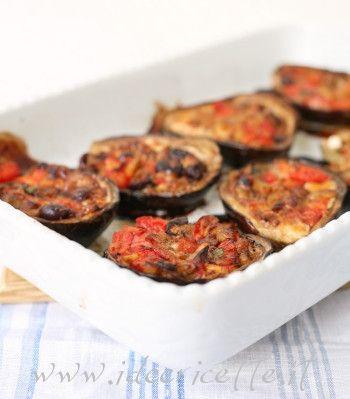 Ricetta Melanzane ripiene con olive e tuma dla paja Occelli