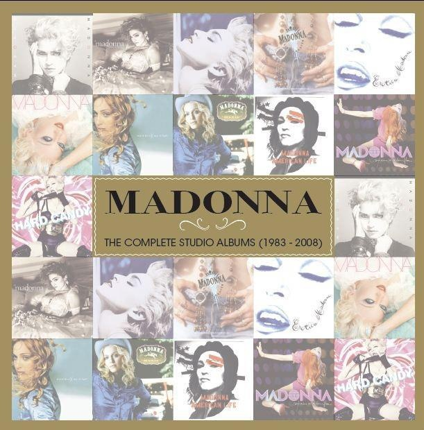 Madonna. The Complete Studio Albums.  11 CD. Nice !!