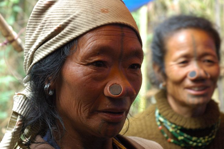 Apatani tribal women