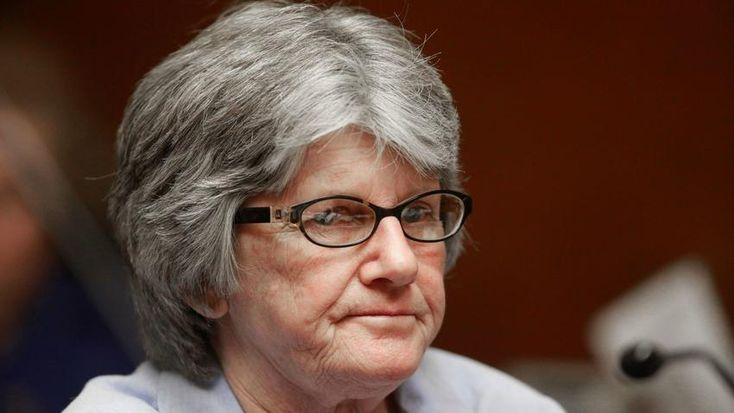 Patricia Krenwinkel at a parole hearing in 2011.