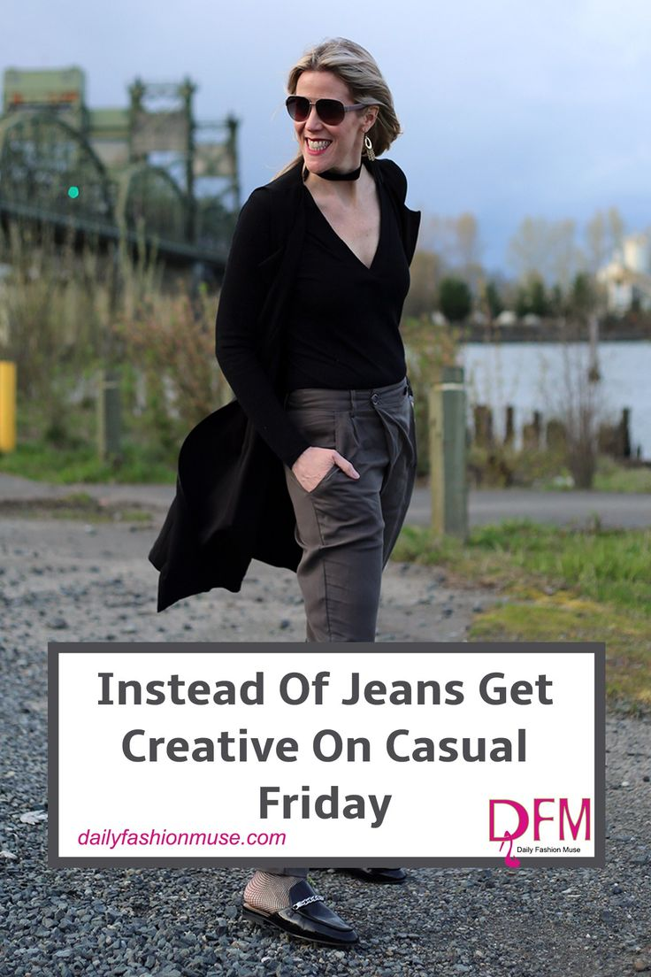 If your office only allows casual outfits on Fridays, instead of reaching for jeans, get a bit more creative. Here is a chance to test out a new style. Daily Fashion Muse