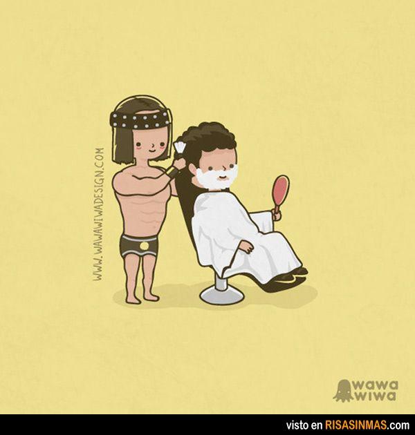 Conan el barbero.