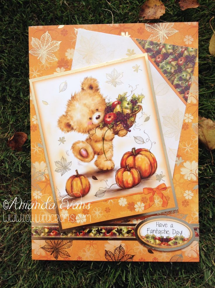 http://www.lollilulucrafts.co.uk/2014/09/hunkydory-autumn-teddy-card/