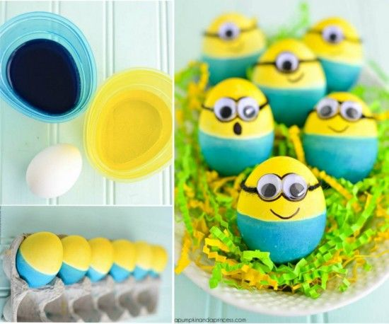 Minion Eggs Tutorial