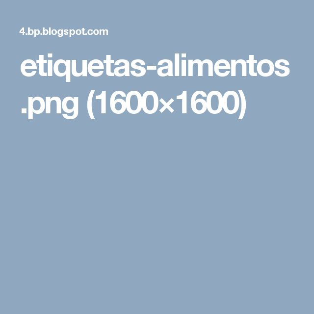 etiquetas-alimentos.png (1600×1600)